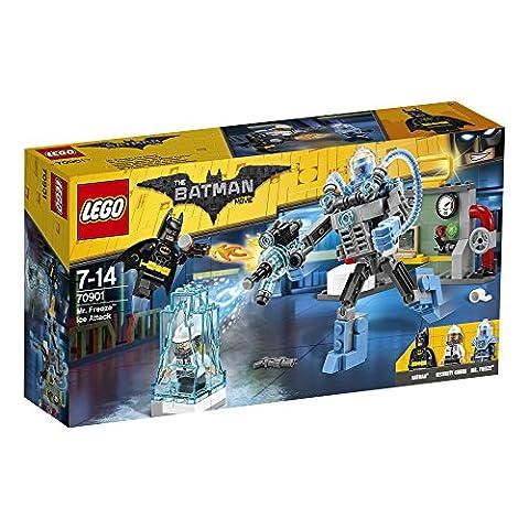 LEGO - 70901 - Batman Movie - Jeu de Construction - L'attaque glacée de Mister Freeze™