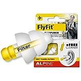Alpine FlyFit 2015 Bouchons d\'Oreilles pour Avion/Voyage + Gratuit Cleaner