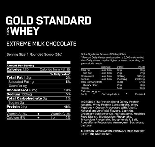 Zoom IMG-1 optimum nutrition gold standard 100