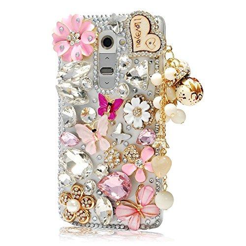 spritech (TM) LG V10/LG G4Pro/G4Note Shining Fall, 3D Handmade Design Bling Kristall Hart Klar Cover für LG V10/LG G4Pro/G4Note LG V10/LG G4 Pro/G4 Note Pattern12 -