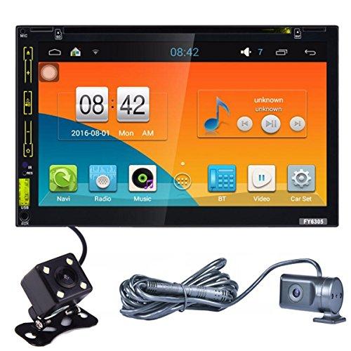Lacaca–6.95pulgadas HD pantalla táctil Android 5.1.1doble DIN coche reproductor de DVD estéreo...
