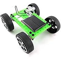VGEBY1 Juguete para Coches con Energía Solar De Bricolaje, Niños Mini Modelo De Coche con Energía Solar Modelo De Juguete De La Asamblea Científica DIY (1-Car)