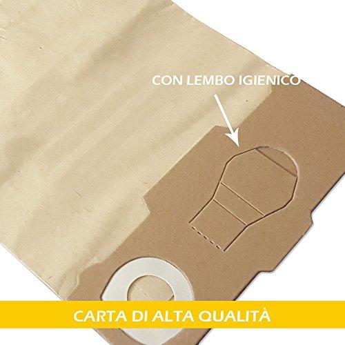20 Sacchetto per Aspirapolvere Filtro Sacchetti Igiene Adatto FILTRO VORWERK FOLLETTO 130 131