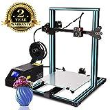 Colorfish 3D Drucker A10s DIY Desktop 3D Drucker Hochpräzises und schnelles Drucken von 3D-Modellen (200mm/s)Printer with 1.75mm ABS/PLA 3D Drucker Filament,Druckgröße: 300X300X 400mm(A10S 3D)