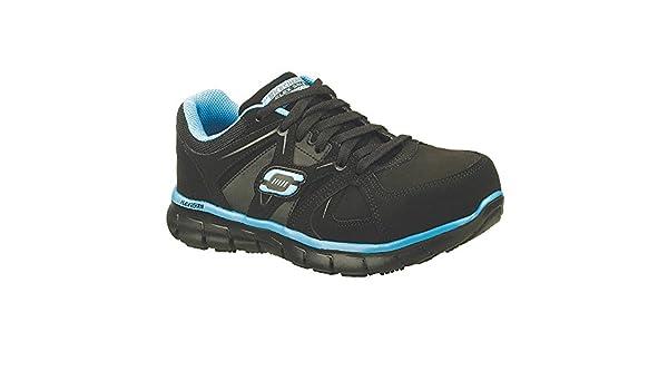 15b6c8e9ae7b Skechers - 76553 - BKBL SZ 6.5 - 3H Women s Work Shoes