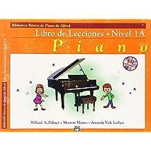 Alfred's Basic Piano Course Lesson Book, Bk 1a: Spanish Language Edition, Book & CD (Biblioteca basica de piano de alfred)