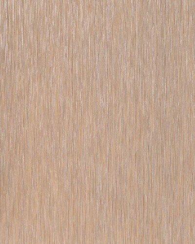 Streifen Tapete EDEM 1020-13 Designer Tapete Metallic Look Glanzeffekte hochwaschbare Oberfläche hell-braun silber (Tapeten-designer)
