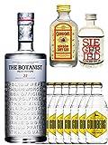 Gin-Set The Botanist Islay Dry Gin 0,7 Liter + Siegfried Dry Gin Deutschland 4cl + Gordons Dry Gin 5cl + 8 x Goldberg Tonic Water 0,2 Liter