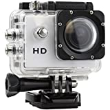 FOTO CAMERA VIDEOCAMERA DIGITALE SPORTS DA 5 MEGAPIXEL VIDEO HD 720P WATERPROOF IMPERMEABILE 30 METRI ACTION CAM PER SPORT ESTREMI