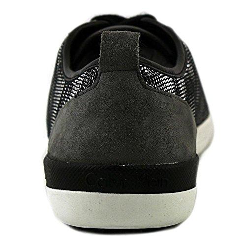 Calvin Klein Tanita Synthétique Baskets Titanium Grey