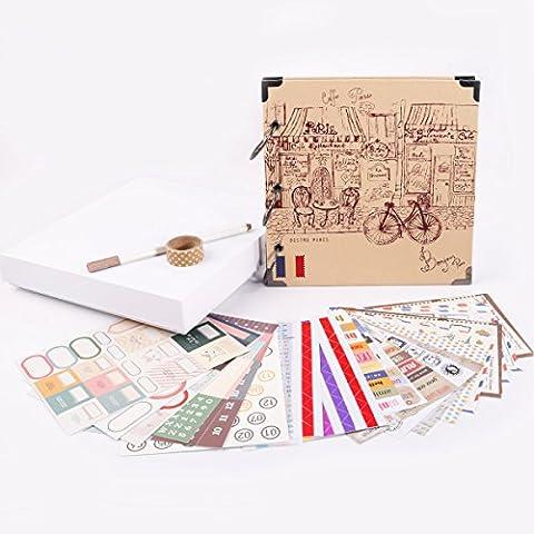 facraft Scrapbook Album 20,3x 20,3cm