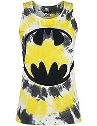 Batman Logo Dyed Top Femme multicolore