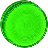 Schneider Electric ZB7EV03scanalato obiettivo 30mm verde, verde scanalato Lens–per BA9S luce pilota Ø 30