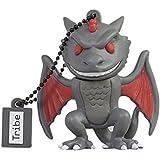 Tribe Games Of Thrones Pendrive Figure 16 GB Funny USB Flash Drive 2.0, Keyholder Key Ring, Drogon (FD032504)