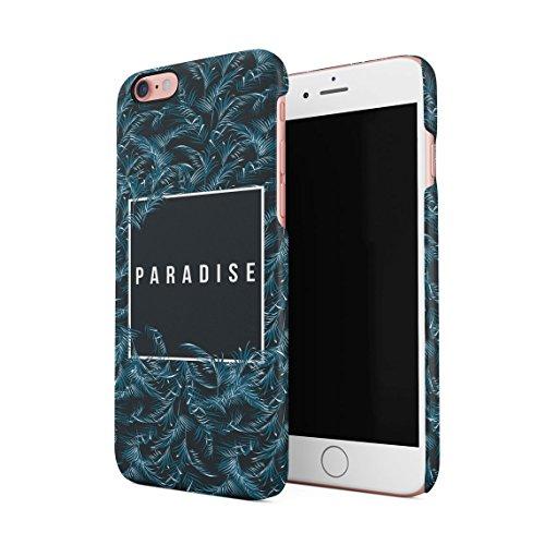 Hawaii The Island Of Aloha Chill Tropical Sommer Beach Good Vibes Dünne Rückschale aus Hartplastik für iPhone 7 & iPhone 8 Handy Hülle Schutzhülle Slim Fit Case cover Paradise