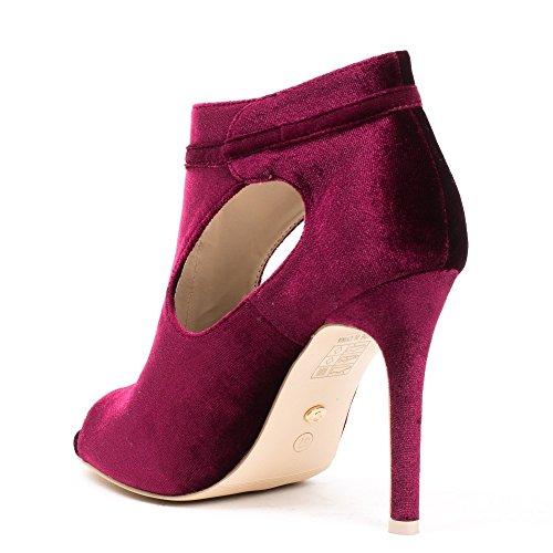 Ideal Shoes ,  Stivali donna Bordeaux