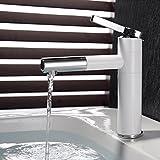 Maifeini Verchromte Weiße Waschbecken Wasserhähne, Badezimmer Armaturen, Armaturen, Dusche, Armaturen, Badewanne, Waschtisch Armatur -