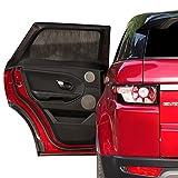 2ME Tendine Parasole Auto Bambini, Tendina Auto Blocca Raggi UV & Calore, Protegge Bambini – Universali 100x54cm, 2pz
