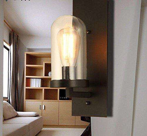 FAYM - Lámpara de Pared de estilo americana impermeable al aire libre escaleras pasillo balcón corredor industrial vintage lámparas de mesa de comedor