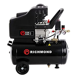 24L Air Compressor - 9.6 CFM, 2.5 HP, 1.5 KW, 230V, 24L, 115 PSI