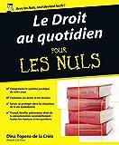 Lire le livre Droit quotidien Pour les gratuit