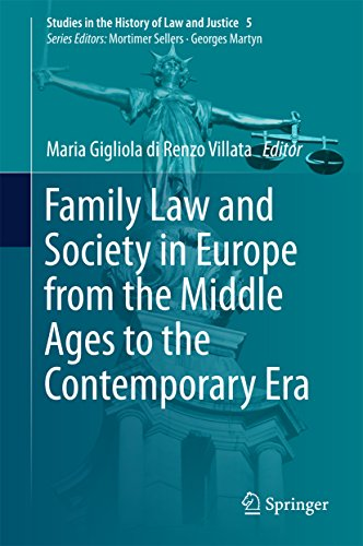 Descargar PDF Family Law and Society in Europe from the Middle Ages to the Contemporary Era (Studies in the History of Law and Justice Book 5)