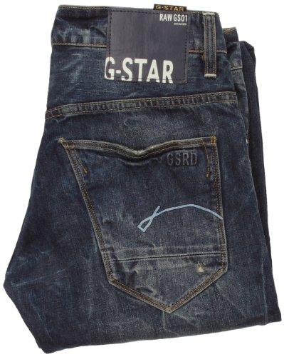 G-STAR Herren Jeans Morris Low Straight Blau (Rugby Wash 3700.2413)