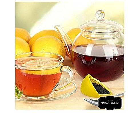tea-bagz/2Stück infuseurs de Tee EN FORME DE TRANCHE Zitrone gelb/Ideal für ein Aufguss Bio/Kräutertee/Tee grün,/Tee schwarz/Zubehör Home und Küche/Diffusor zu Tee Original/Diffusor zu Tee hochwertigem/Diffusor Tee 100% Silikon/Teefilter Silikon ungiftig/Teefilter Hohe/Teesieb/Tee-Infuser Lustige Spielerisch/Teefilter wiederverwendbar/diffiseur Tee-waschbar/Teefilter Individuelle Filter/Diffusor zu Tee/