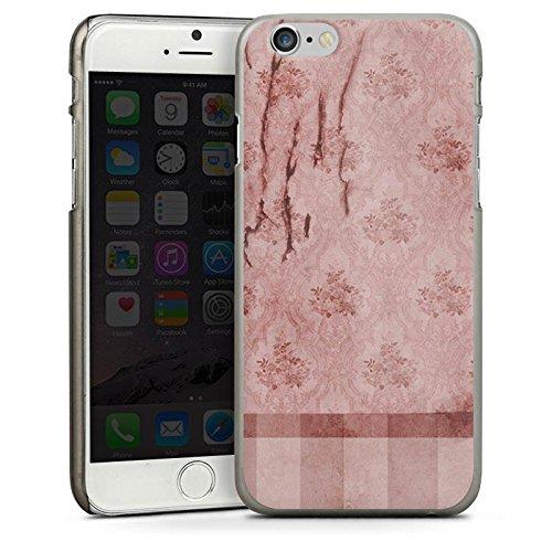 Apple iPhone 4 Housse Étui Silicone Coque Protection Mur Motif Motif CasDur anthracite clair