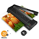 4-in-1 Laminator Machine, A3 Laminator with 20 Laminating Pouches, 2 Roller System, Paper