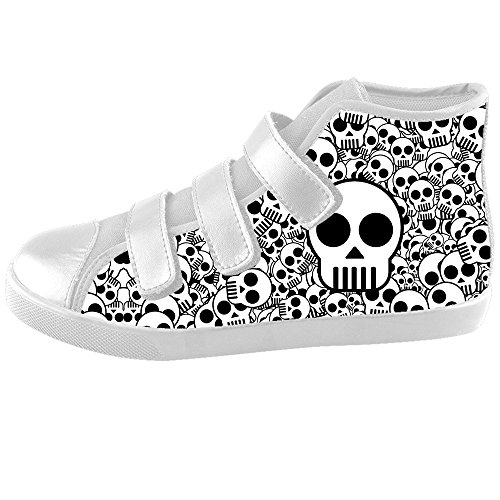 Dalliy Cool Skull Kids Canvas shoes Schuhe Footwear Sneakers shoes Schuhe C