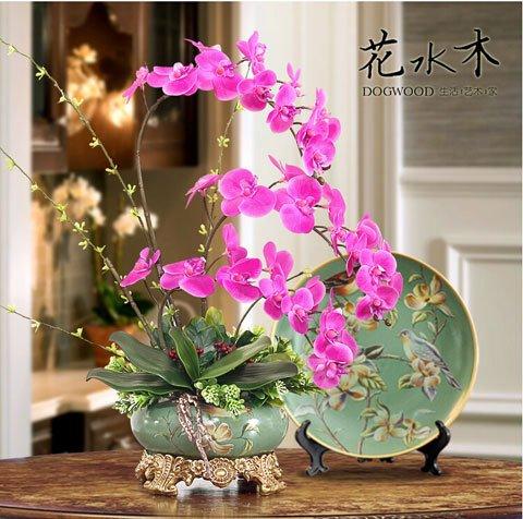 Graines orchidées Phalaenopsis beau jardin Bonsai balcon fleur papillon graines d'orchidées Accueil plantes -50 pcs graines