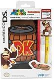 PDP - Kit Donkey Kong, Incluye Bolsa + Stylus (Nintendo 3DS)
