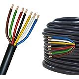 cable electrique 5m 7 brins de 1 mm cuivre auto. Black Bedroom Furniture Sets. Home Design Ideas