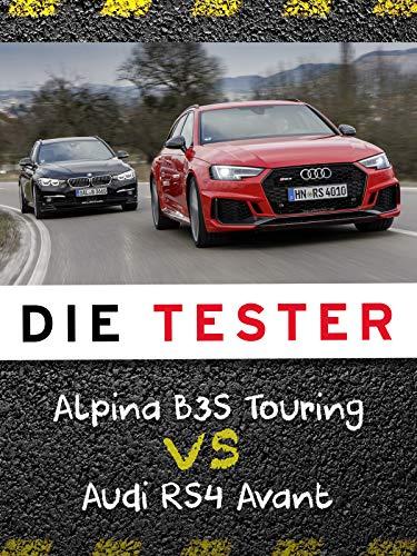 Die Tester: Alpina B3S Touring vs. Audi RS4 Avant