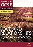 AQA Poetry Anthology - Love and Relationships: York for sale  Delivered anywhere in Ireland