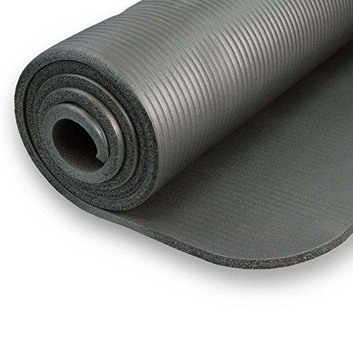 Yogamatte Gymnastikmatte rutschfest mit Tragegurt, phlatatfrei + SGS-geprüft Abbildung 3
