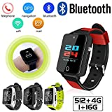 feiledi Trade Bluetooth 3 G Smart Watch Wifi Quad Core Smartwatch mit SIM Card Slot, android5.1 Phone Call 3 G GSM SIM GPS TF Karte 2.0 MP HD Kamera für iOS und Android
