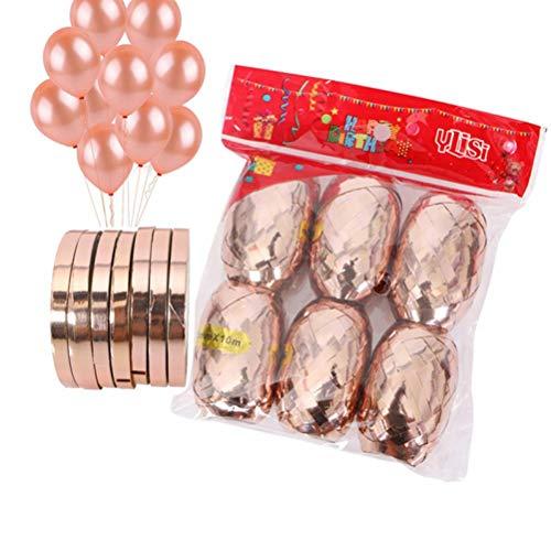 band Gebunden Ballon Paillette Band Luftballons Dekoration Geburtstags-Party-Dekor-Kind-Hochzeitsdekoration-Henne-Partei-Bevorzugungen. Q ()