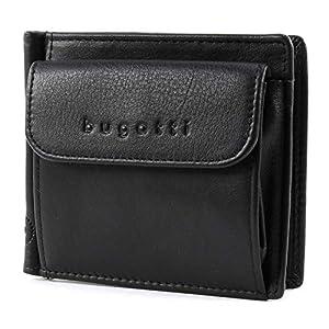 bugatti City Line RFID Dollarclip 8CC Black