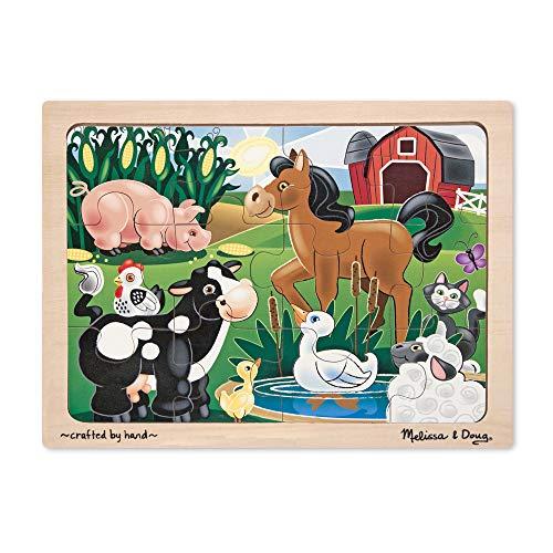 Melissa and Doug on The Farm Jigsaw (12 Piece)