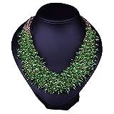 RMXMY Accessoires de Mode pour Femmes Exotiques de décoration de Luxe Grand rétro Bijou de Cristal à la Main rétro...