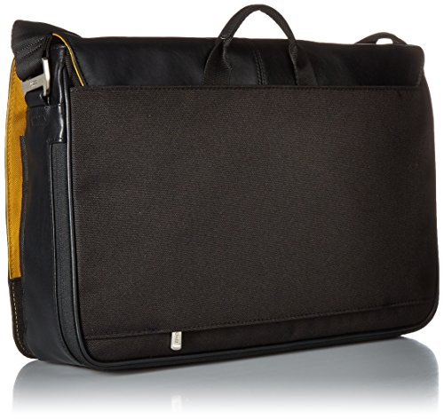 "For Sale Knomo 154-112-BLK ""Bungo"" Expandable Messenger Bag for 15.6-Inch Laptop – Black Review"