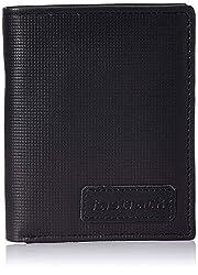 Fastrack Men Black Genuine Leather Wallet (2 Card Slots)