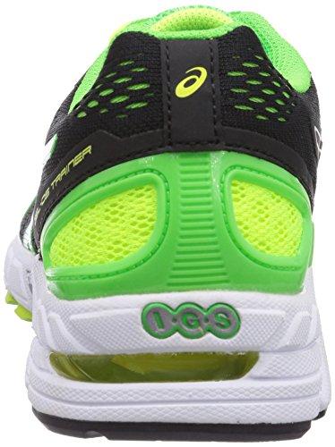 ASICS - Gel-Ds Trainer 19, Scarpe Da Corsa da uomo Nero(Schwarz (9001-Schwarz/White/Neon Green))