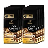 Tchibo Caffè Crema Mild ganze Bohne, 8 kg (8 x 1 kg)