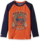 Blue Giraffe Boys' T-Shirt (AW-16/TEE/OW...