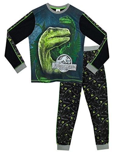 Dinosaurier Pyjamas Pjs (Jurassic World Jungen Jurassic World Schlafanzug 122cm)