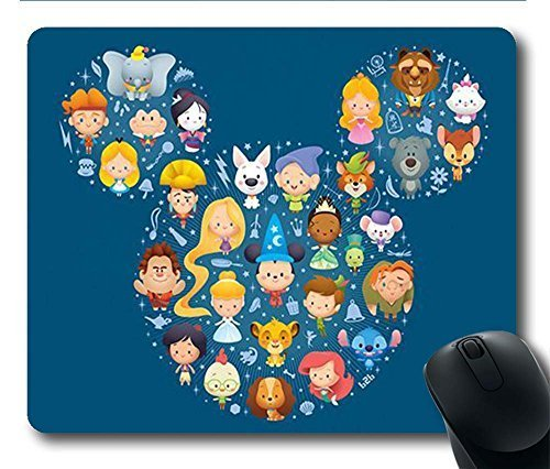 gaming mouse pad black mickey mouse personalized mousepads natural
