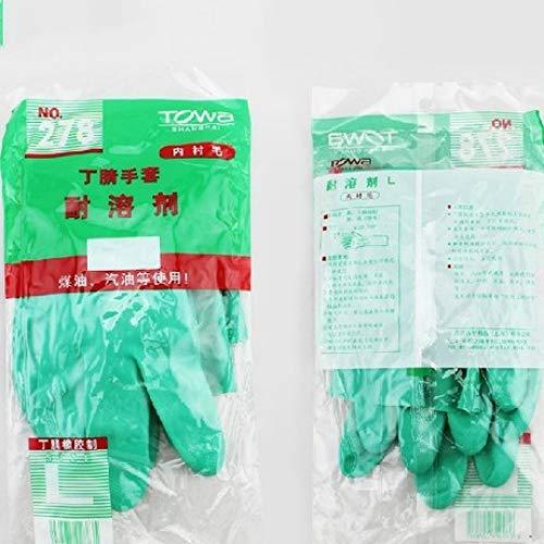 Yyzhx Handschuhe Anti-Benzin Anti-Kerosin Industriehandschuhe resistent gegen Lösungsmittel Handschuhe malen Handschuhe